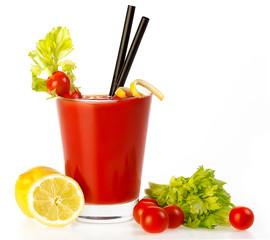 Delicious Fresh Tomato Cocktail