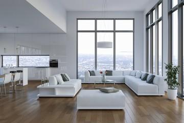 modernes Loft