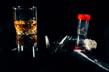 Illegal drugs and vices
