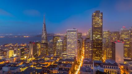 San Francisco Skyline at Dusk