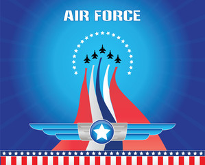 air force illustration