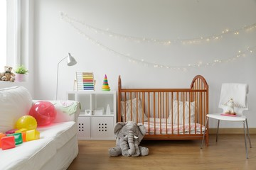 Newborn room interior