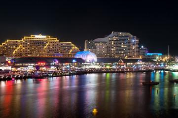 Darling Harbour night scene