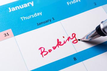 Booking reminder