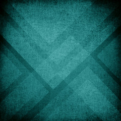 teal blue green background design with angles and triangles in layered pattern with fiber texture