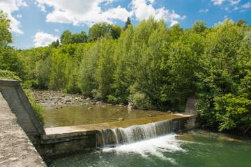 La cascata nel fiume