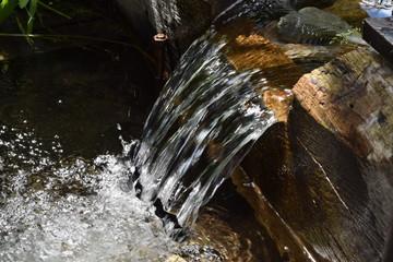 Ручей ключевой воды