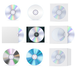 Compact disc set: cd, box, cover