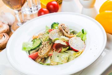 Fresh healthy summer salad