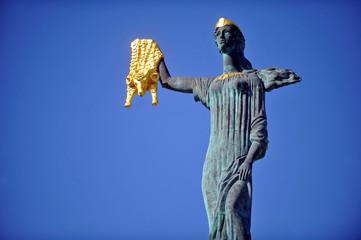 Medea statue in Batumi Wall mural