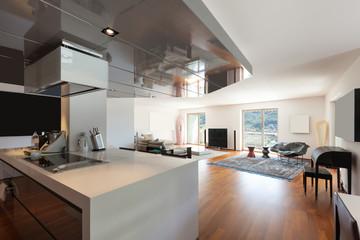 living room, parquet floor