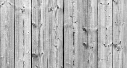 Old white wooden wall, detailed background photo Wall mural