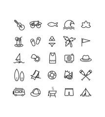 Surf icones
