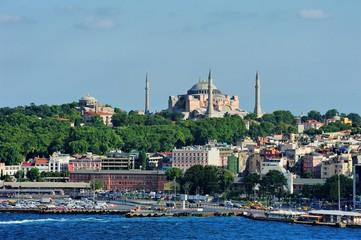 Hagia Sophia From Galata Tower