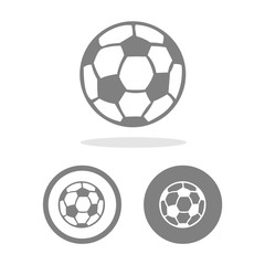 Football icon great for any use. Vector EPS10.