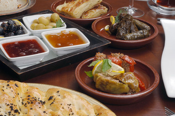 Traditional Turkish cuisine