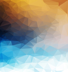 Abstract polygonal background. Triangles