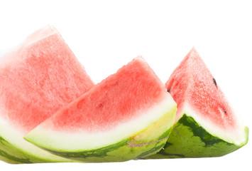 Closeup of watermelon slices