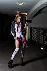 Better Axe Someone, Sexy zombi school girl
