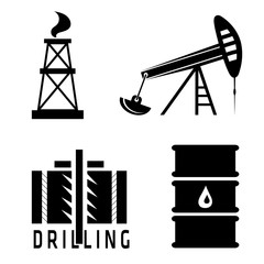 oil industry vector design template