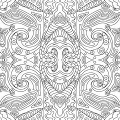 Seamless Pattern mandala