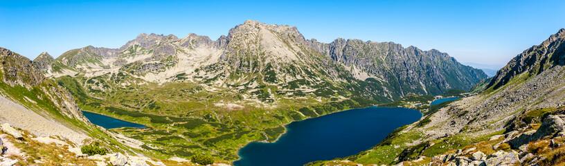 Dolina Pięciu stawów Polskich - panorama