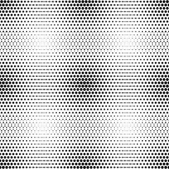 Vector seamless pattern with circle halftone
