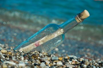 messaggio in bottiglia, comunicazione, mare, messaggio, bottiglia, sos
