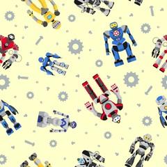 Seamless robots pattern