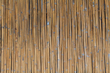 Bamboo fencing panel