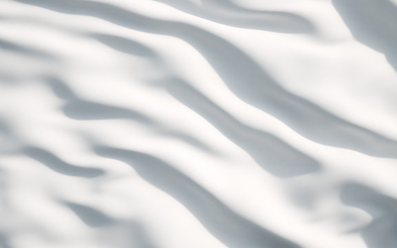 White satin, silk, texture background. A concept of white flag.