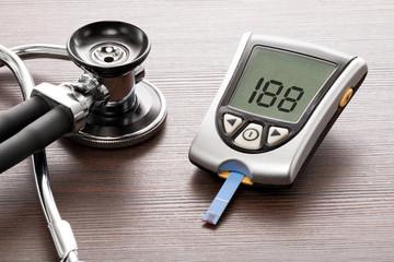 Blutzuckermessgerät, zur überprüfung de Blutzuckerspiegels