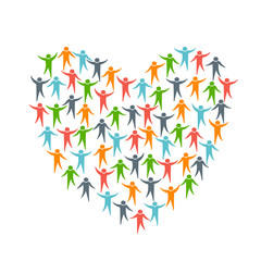 Heart of People Diversity logo