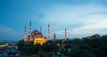Sultanahmet, blue mosque & Hagia Sophia, Istanbul, Turkey