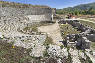 Greek theater in Dodona, Greece