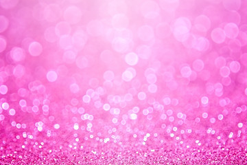 Pink Baby Girl Birthday Background