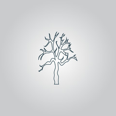 Tree Silhouette icon