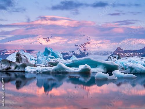 ледник природа облака горы снег лед без смс