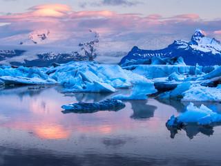 Photo sur Plexiglas Glaciers Jökulsárlón, Iceland