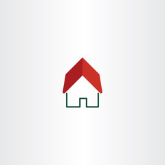 house logo real estate symbol element