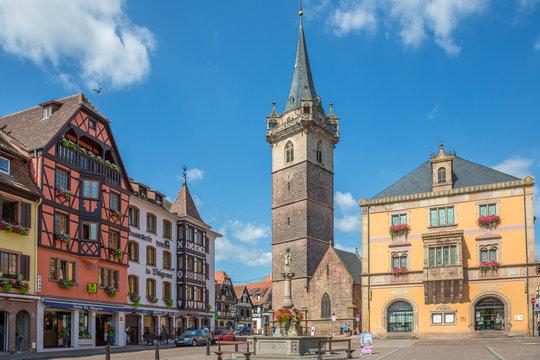Place du Marché à Obernai