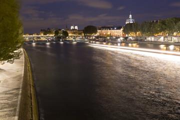 The River Seine in Paris, France