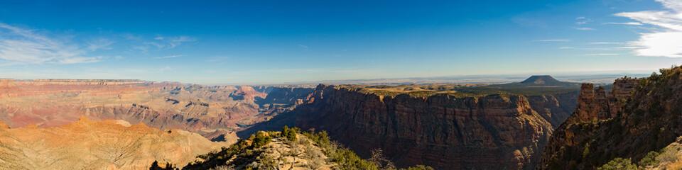 Grand canyon nation park, Arizona, USA. Panoramic image.