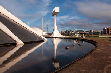 Cathedral of Brasilia and Belfry Tower
