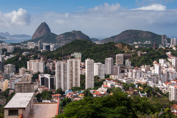 Laranjeiras Neighborhood and Sugarloaf Mountain