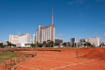 Construction Site in Brasilia City