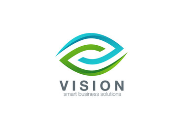 Eye Logo abstract design vector template...Business Technology v