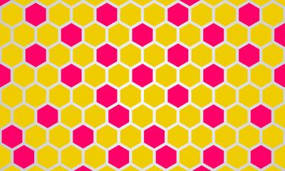 Abstract modern Hexagonal Background new Design