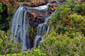 Lisbon waterfall, Sabie Mpumalanga, Drakensberg, South Africa