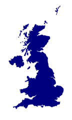 U.K. and Northern Ireland Silhouette